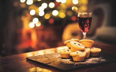 Mulled Wine & Mince Pie Christmas Morning